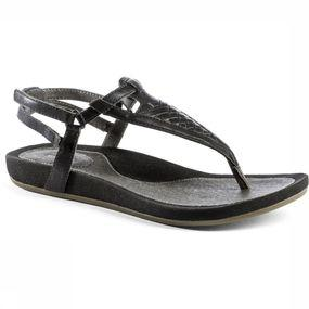 Met de capri sandaal waan je je op de catwalk! kijk dat mooie vlechtwerk van leren bandjes op de wreef eens; ...