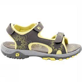 Deze sandaal is goed geschikt voor veel outdoor activiteiten. het soepele microvezel voetbed zorgt voor een ...