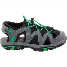 Deze mix van sandaal en halfhoge schoen is even geschikt voor activiteiten in het water als op het land. in ...
